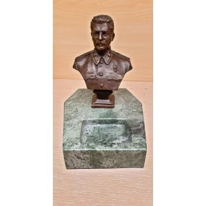 Бюст Сталина (визитница, пепельница)