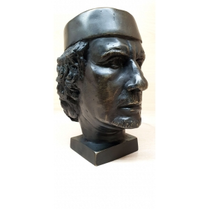 бюст Муаммар Каддафи
