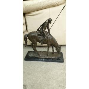 Ополченец на лошади (Лансере)