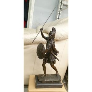 Александр Македонский в бою