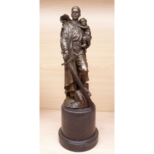 Алеша - воин освободитель. Памятник советскому солдату в Трептов-парке в Берлине