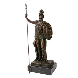 Бронзовые статуэтки  воинов