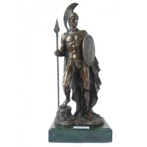 """статуэтка """"Воин с щитом и копьём"""""""