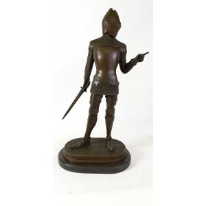 Рыцарь в шлеме