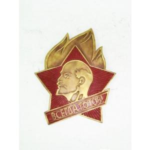 Герб Пионерской организации (бронза)