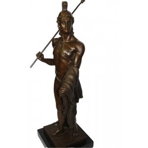 """бронзовая статуэтка """"Ясон с руном"""""""