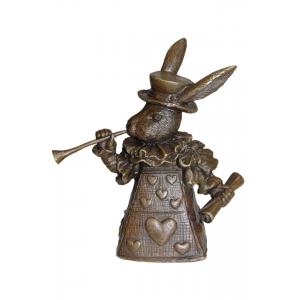 колокольчик Кролик из Страны Чудес