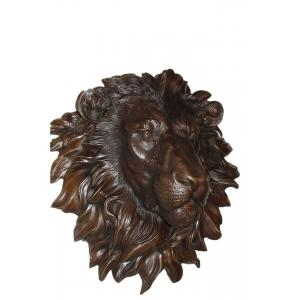 настенное украшение-панно Лев