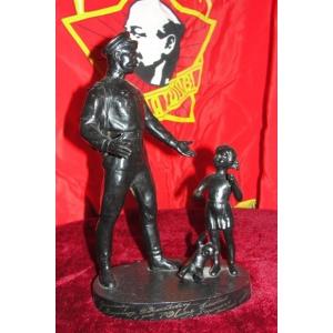 Cтатуэтки СССР и гербы