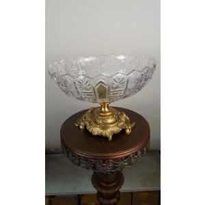ваза (105) бронза, хрусталь
