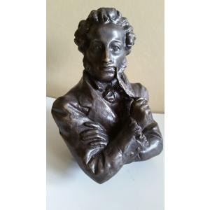 бюст Пушкин (бронза, Россия)