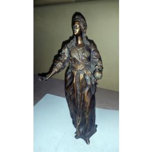Екатерина 2 Великая (статуэтка, бронза)