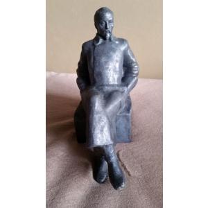 Ф.Э.Дзержинский сидит (шпиатр, СССР)