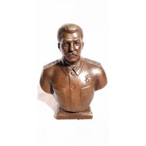 бюст Сталина в форме (автор - Н.Никогосян)