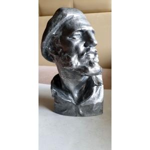 Фидель Кастро (силумин, 70-е годы)