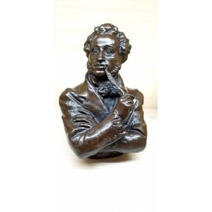 Бюст А.С. Пушкин с пером