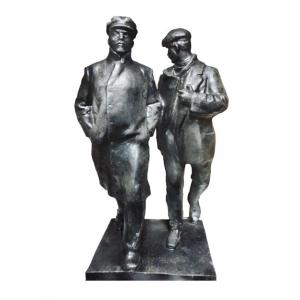 Ленин с телохранителем