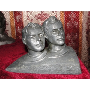 космонавты СССР  Николаев и Попович