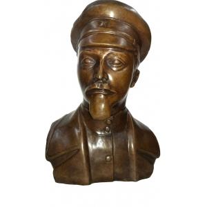 бюст Дзержинского в кепке (большой)