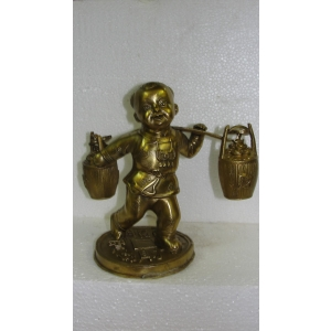 Ребенок Карако с золотом (большой)