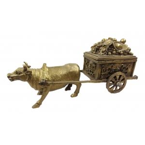 Бык с телегой золота (шкатулка)