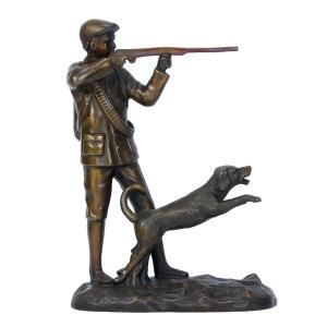 статуэтка Охотник в кепке
