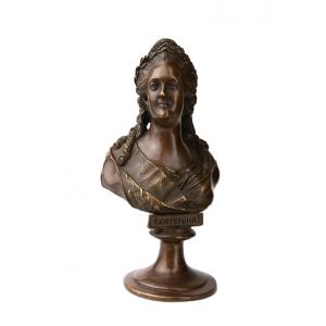 Бюсты и скульптуры царей и военачальников Российской Империи