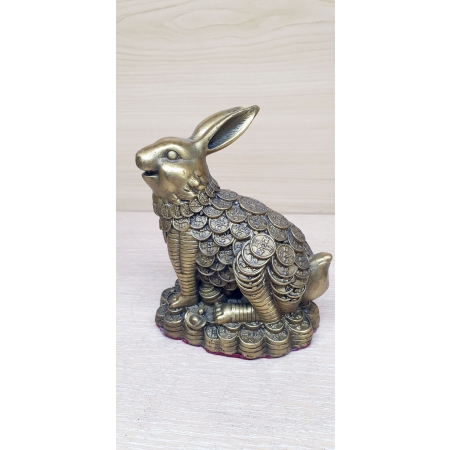 Денежный кролик (заяц)
