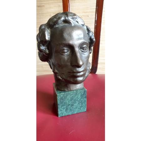 А.С. Пушкин (силумин, 70-80 годы)