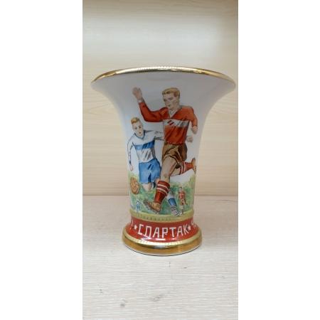 Памятная ваза Спартак (ЛФЗ 1987 год)
