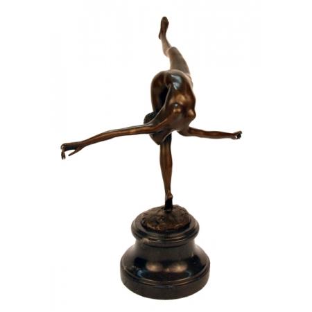 """статуэтка из бронзы """"Гимнастка"""""""