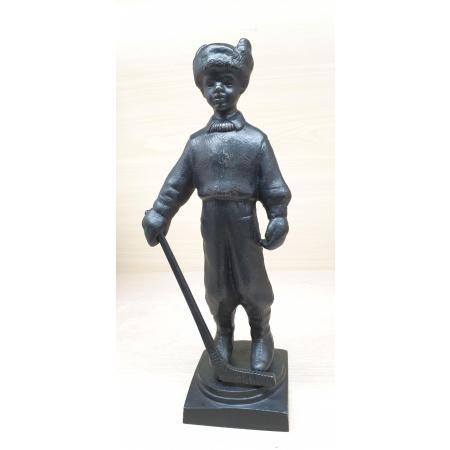 Мальчик-хоккеист, чугун (КУСА, 1961 год)