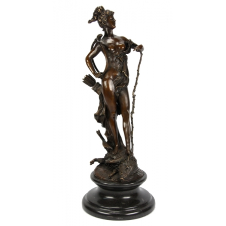 Диана - богиня охоты на кабане
