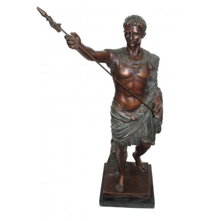 Юлий Цезарь (в зелёной патине)