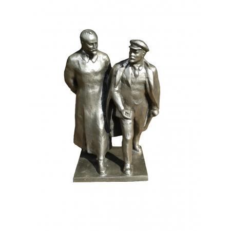бюст Ленина с Дзержинским