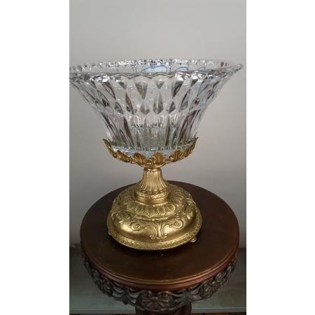 ваза (063) бронза, хрусталь