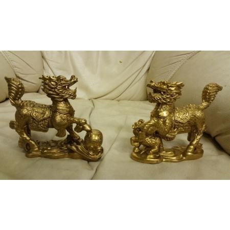 Собаки Фу (небесные львы Будды)