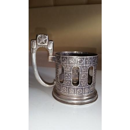 подстаканник Серп и молот. Звезда (серебро 875)
