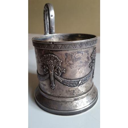 Гирлянды с букетами (серебро 84)