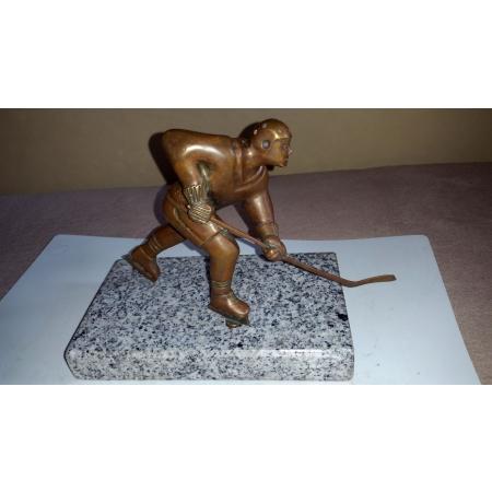 Хоккеист (бронза, СССР, 70-80 годы)