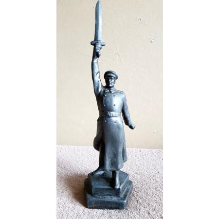 Памятник советским чекистам (шпиатр, 60-е годы)