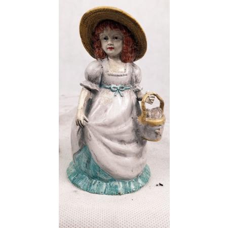 Колокольчик Девочка с корзинкой