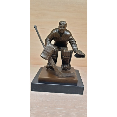 Вратарь хоккеист