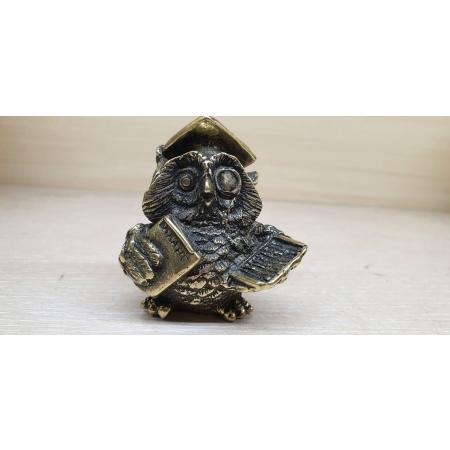Мудрая сова - бухгалтер (миниатюра)