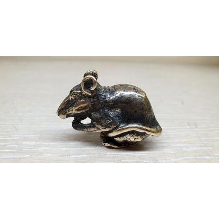 Крыса грызёт (миниатюра)
