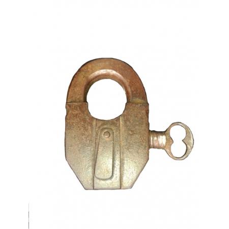 замок с боковым ключом