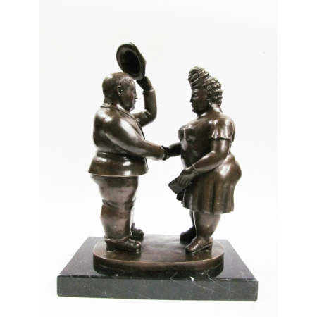 """статуэтка из бронзы """" Парный танец """" 1 (модерн)"""