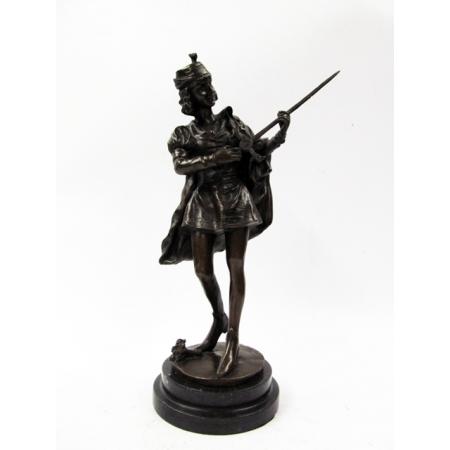 """статуэтка из бронзы """"Ромео"""""""