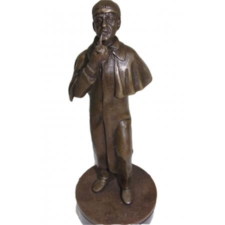 """статуэтка из бронзы """"Шерлок Холмс"""" печать"""