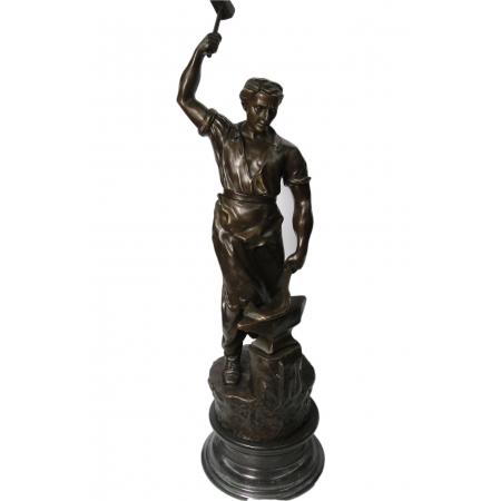 "статуэтка из бронзы ""Кузнец"""